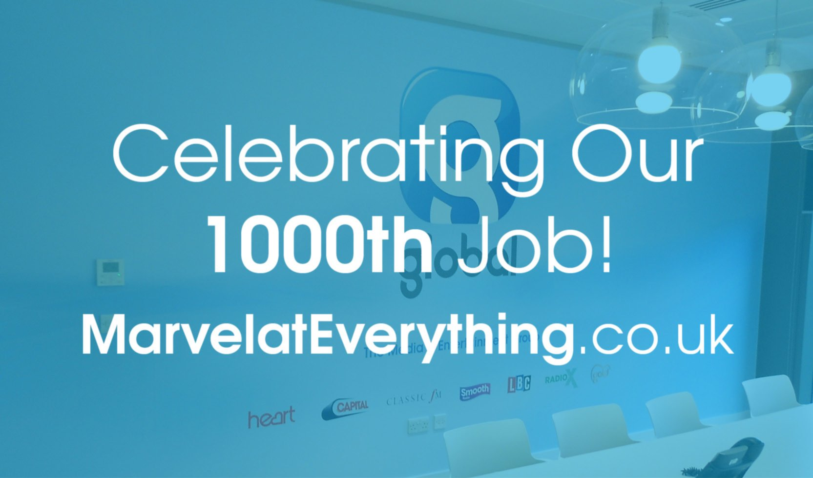 Celebrating Our 1000th Project!