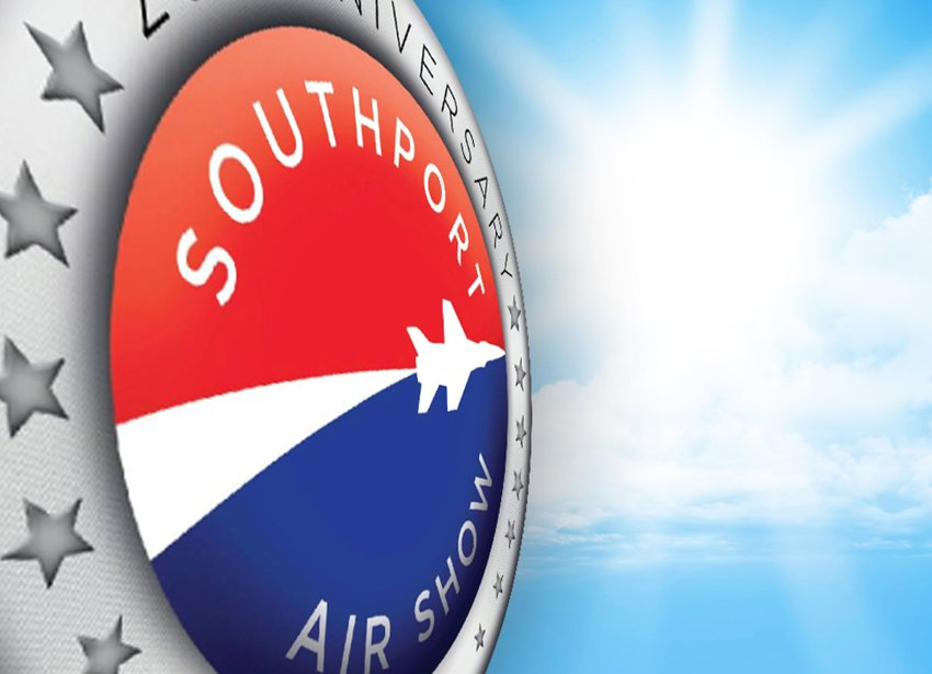 Southport Air Show 25th Anniversary Logo Remastered
